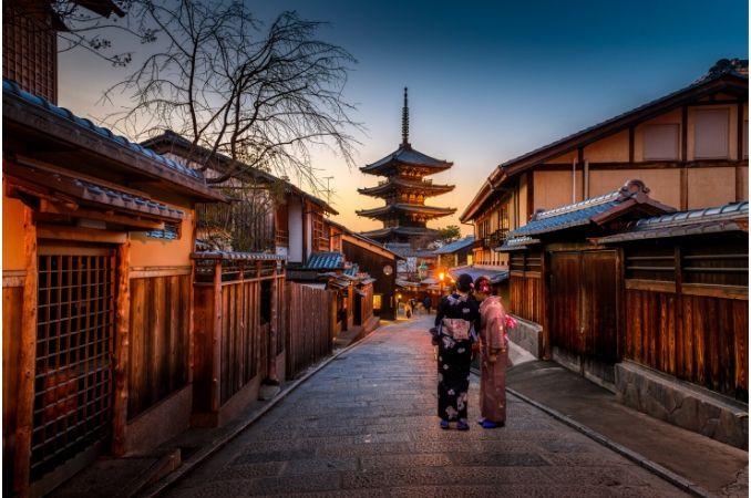 due donne a kyoto
