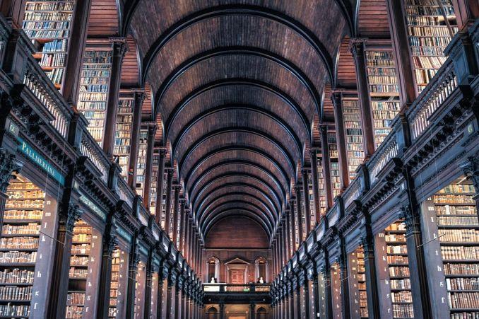 Tra le biblioteche più antiche del mondo quella del trinity college dublino