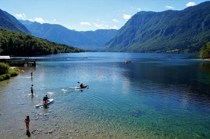 Lago Bohinj visitare la slovenia