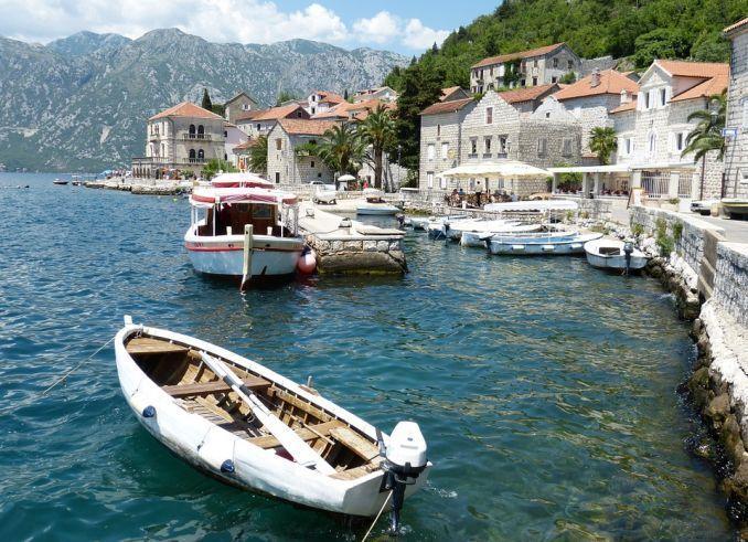 città europee da visitare montenegro