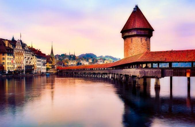 città europee da visitare Lucerna