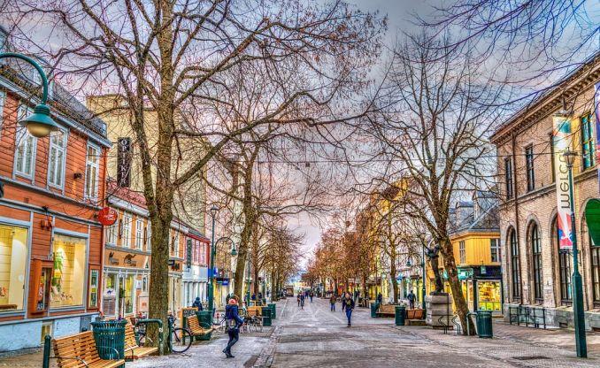 Trondheim norvegia città