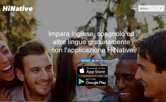 app per imparare lingue hi native
