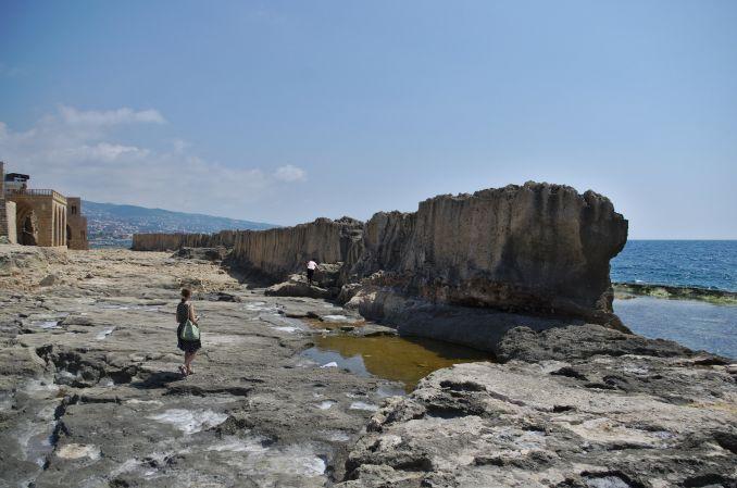 Mura marine fenicie in Libano