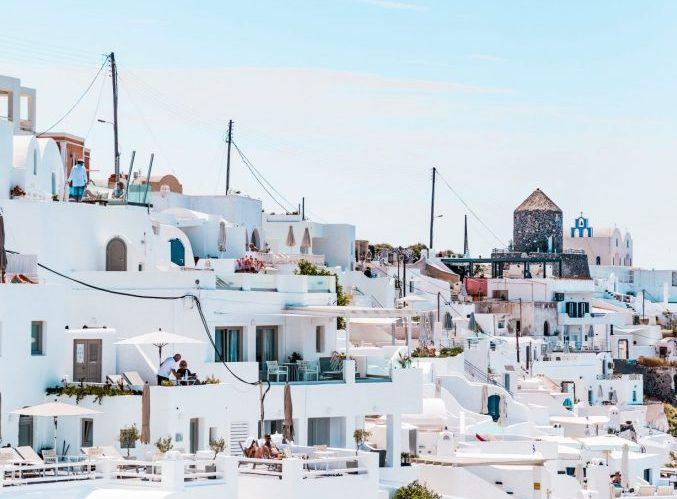 case bianche grecia