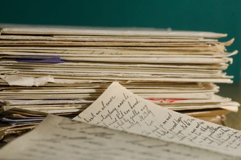 Lettere scritte a mano
