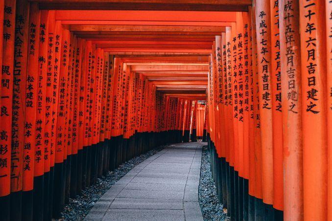 Visto Giappone, tempio giapponese