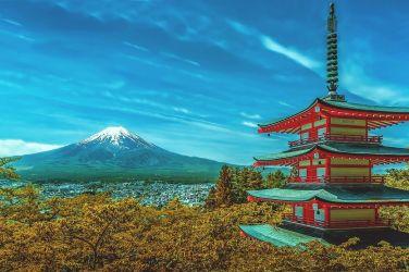 Visto Giappone, Tempio, Montagna