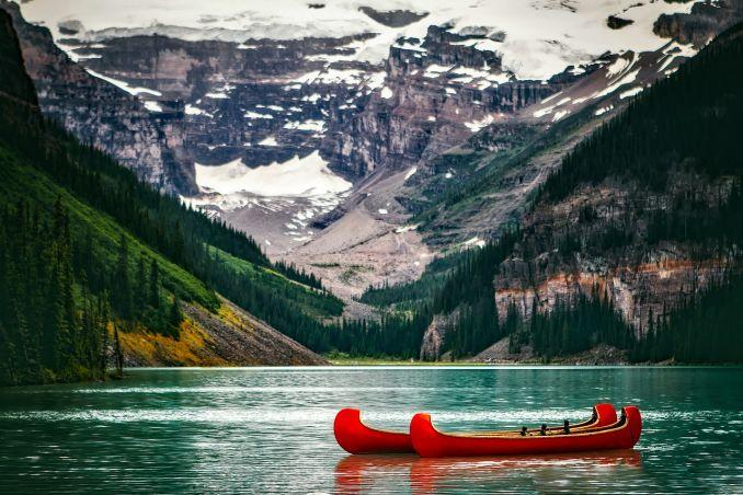 Lago Louise, Visto Canada