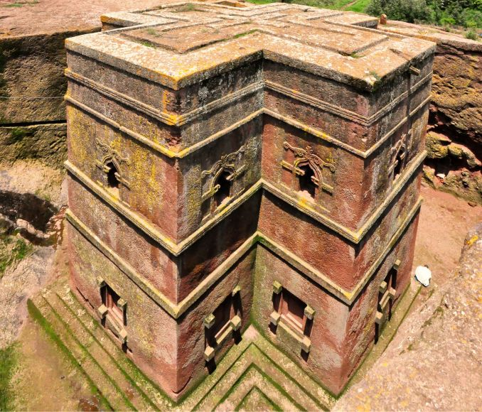 Città da visitare, Lalibela, Chiesa monolitica