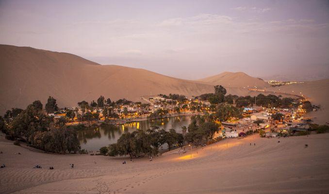 Città da visitare, Huacachina, Perù