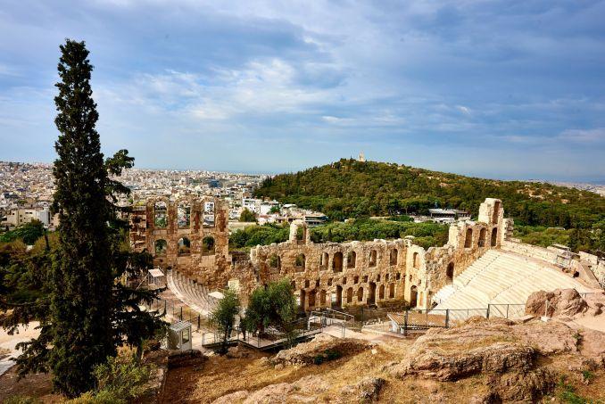 Frasi in greco antico, Acropoli