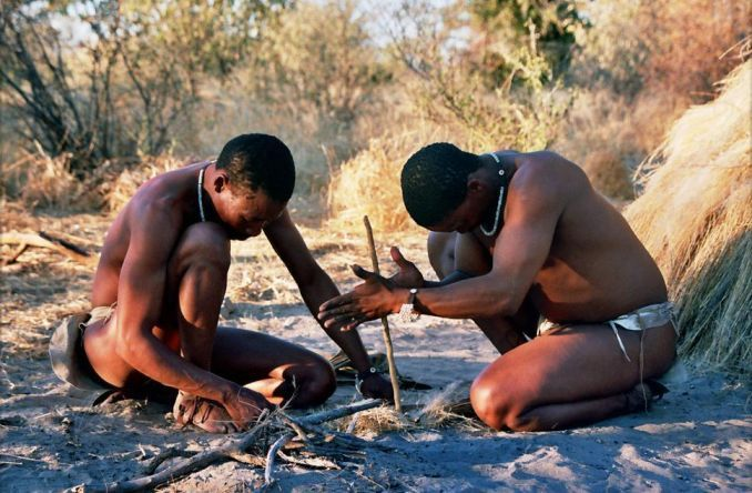 Tribù africane, San