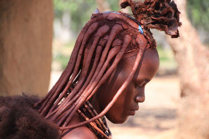 Tribù africane, Donna Himba