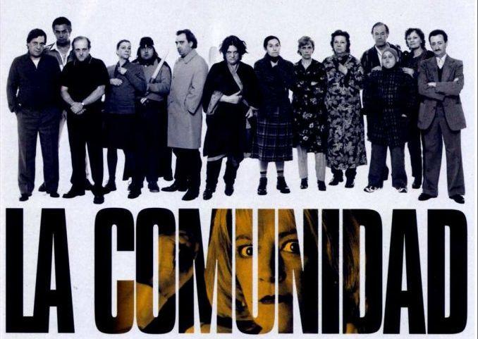 locandina del film in spagnolo la comunidad