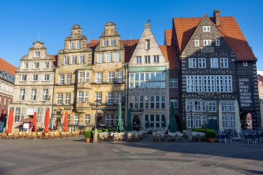 piazza del mercato di Brema, Germania