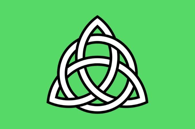 simboli celtici triquetra