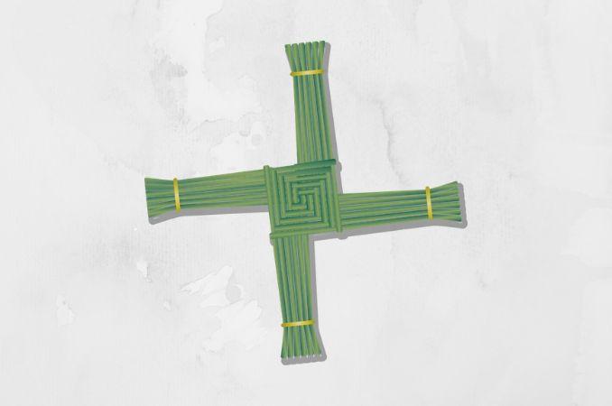 croce santa brigida simboli celtici
