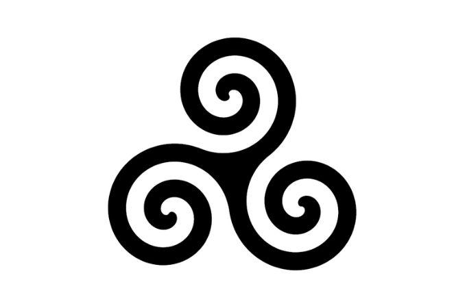 simboli celtici triscele