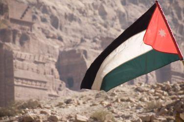 Visto Giordania, Bandiera Giordania