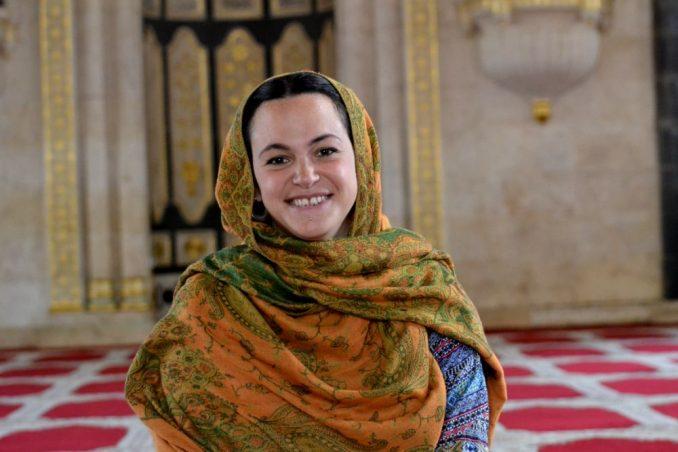 ragazza musulmana