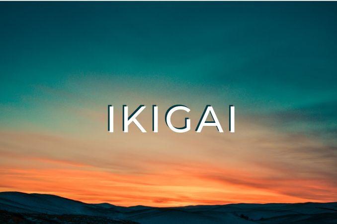 parole giapponesi ikigai