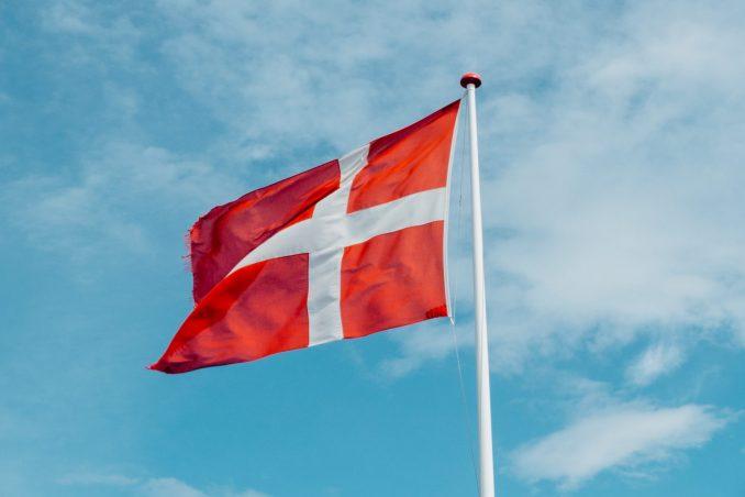 Bandiera danimarca vivere in danimarca