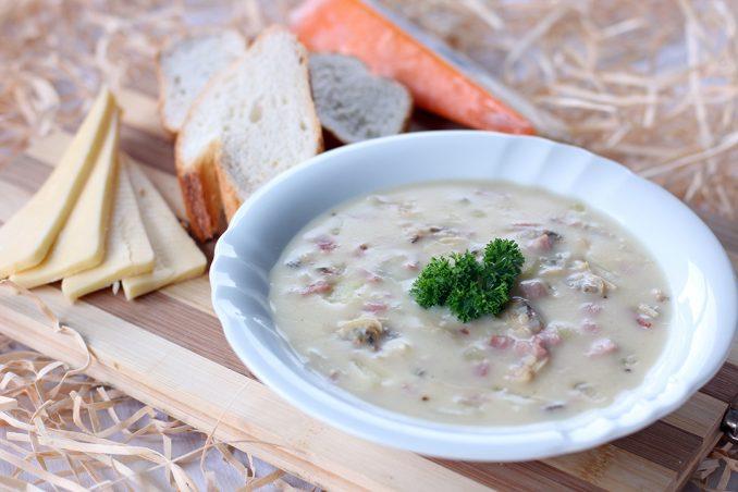zuppa di vongole cibo americano