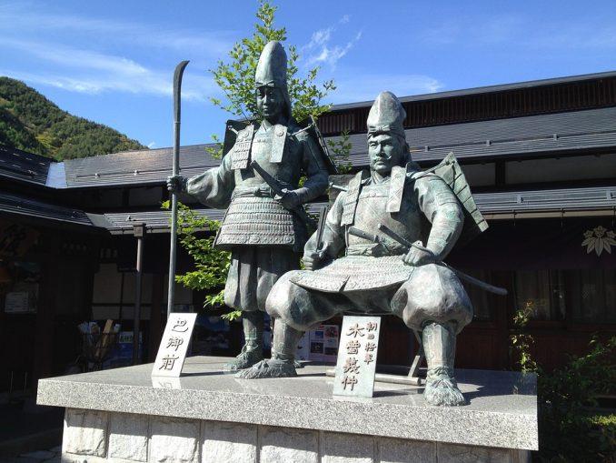 statua di tomoe gozen