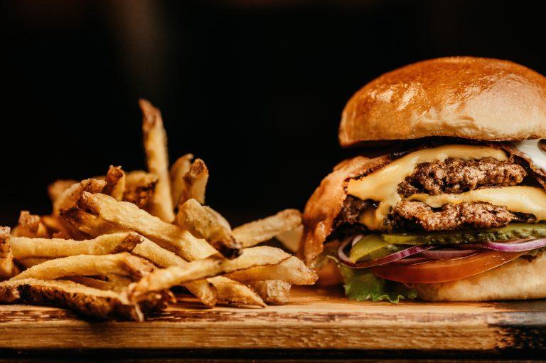 hamburger piatti tipici americani