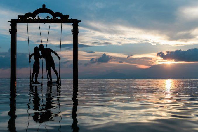 bacio sul mare