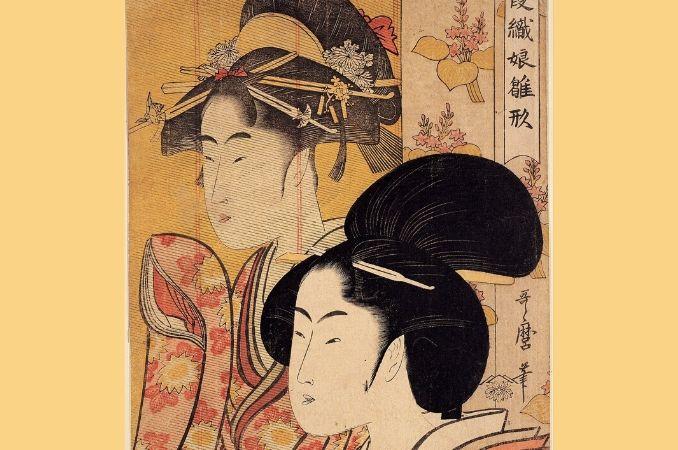 arte giapponese donne