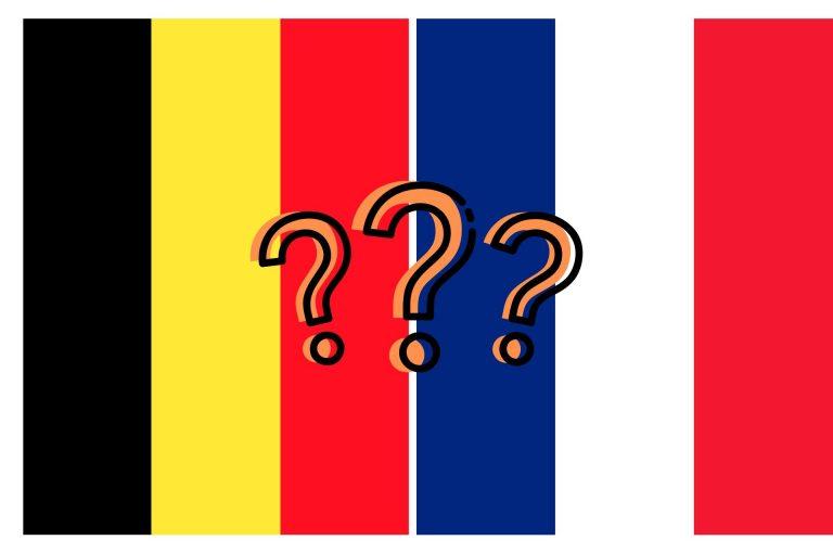 bandiere belgio francia