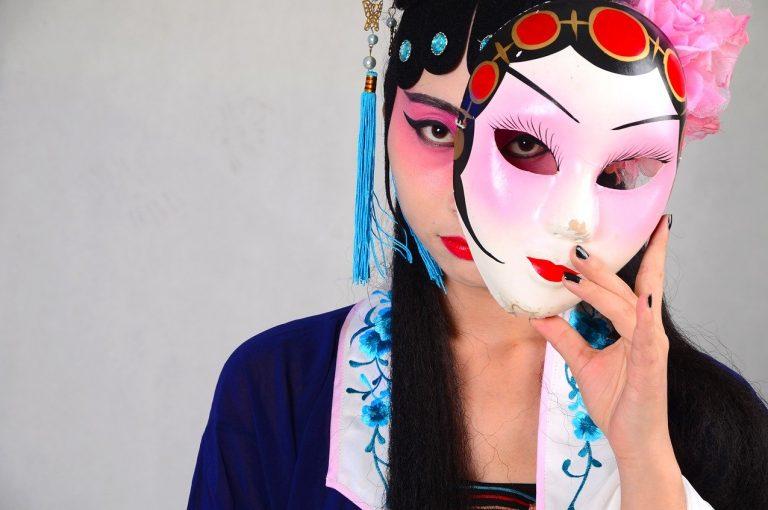 maschera teatro cinese