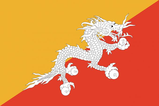 bandiere più belle bhutan