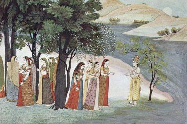 illustrazione leggende indiane