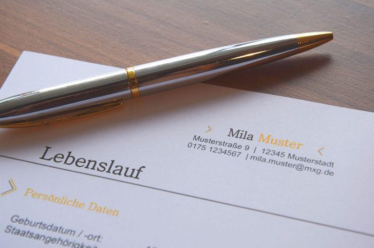 curriculum in tedesco