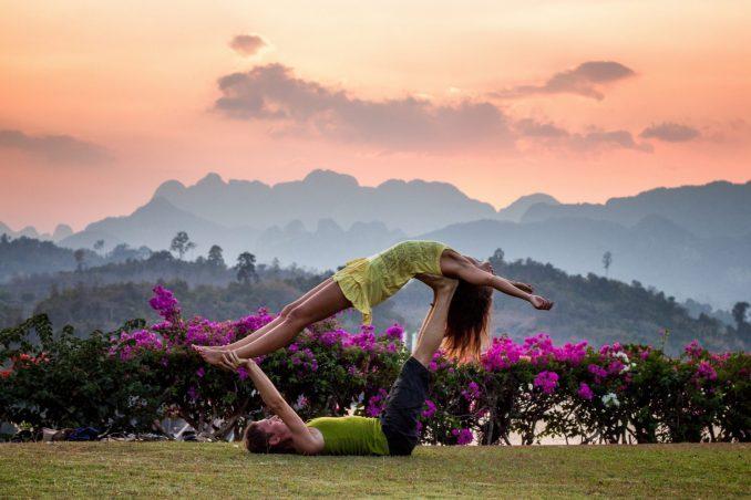 viaggi di coppia yoga
