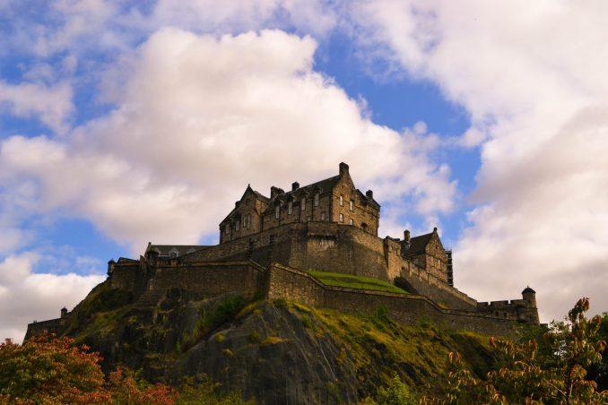 castelli medievali in europa edimburgo