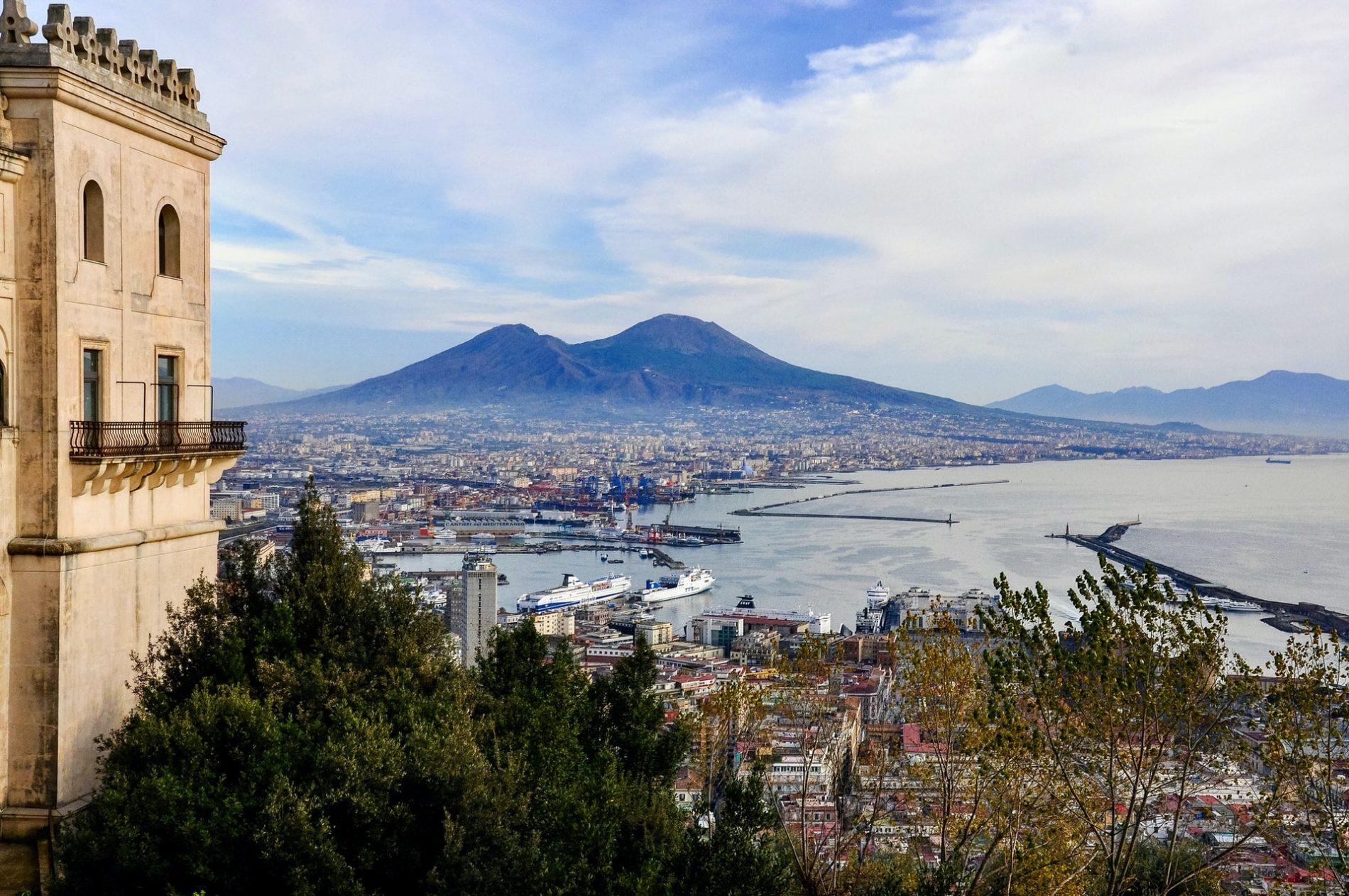 Vesuvio vulcani attivi in Europa
