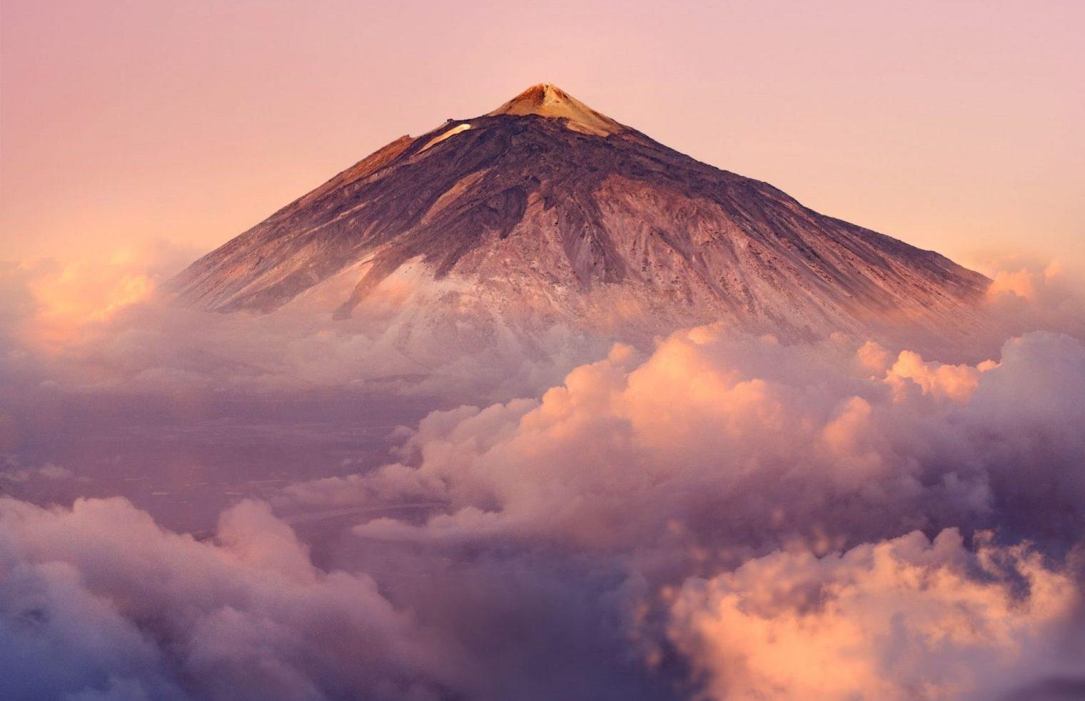 Teide vulcani attivi in Europa
