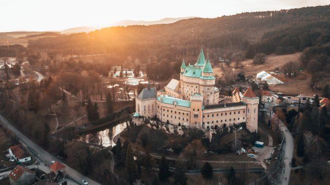 castello medievale in slovacchia