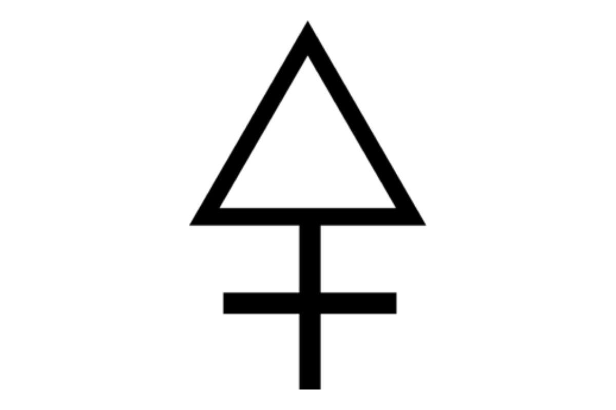 simbolo alchemico zolfo