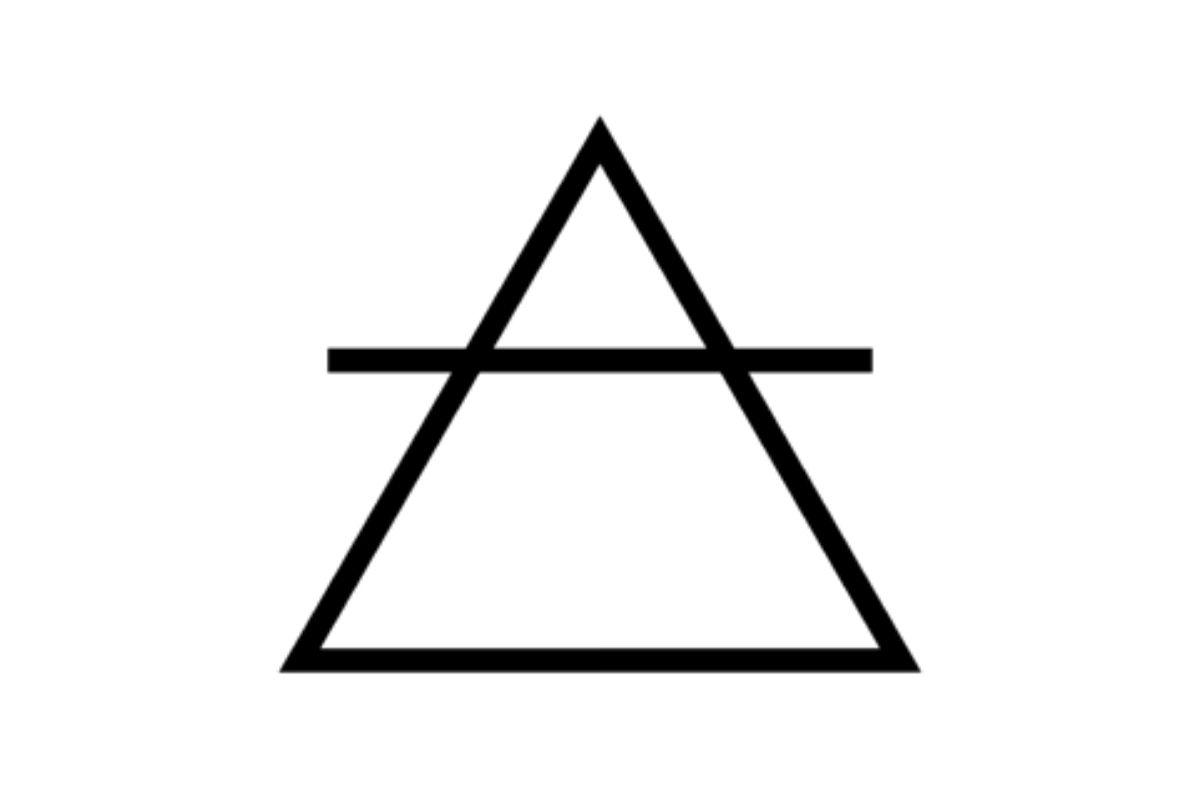 simbolo alchemico aria