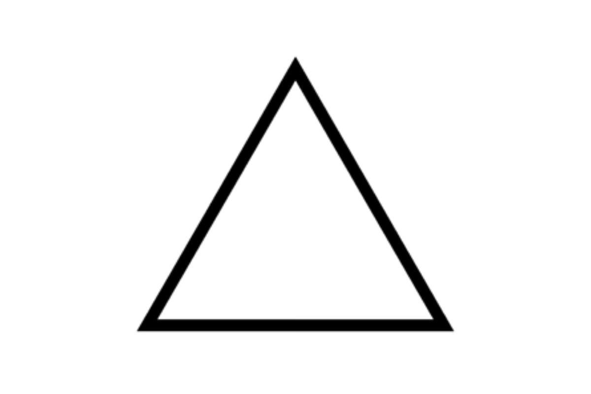 simbolo alchemico fuoco