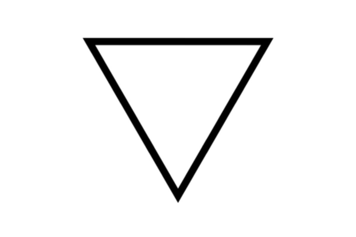 simbolo alchemico acqua