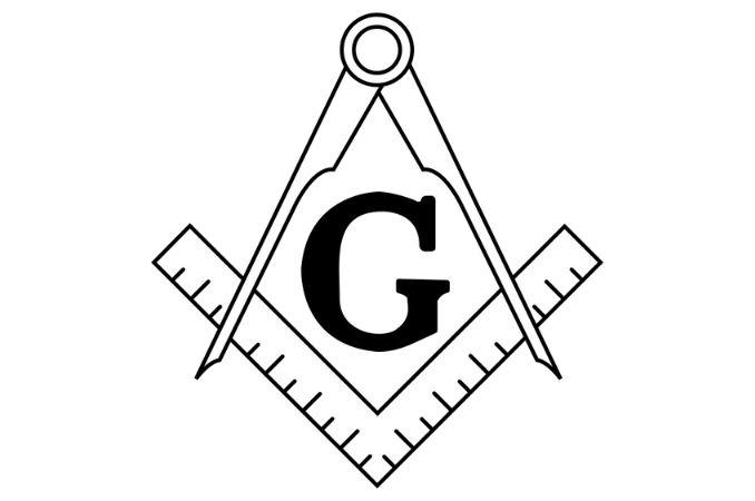 simboli massonici squadra compasso