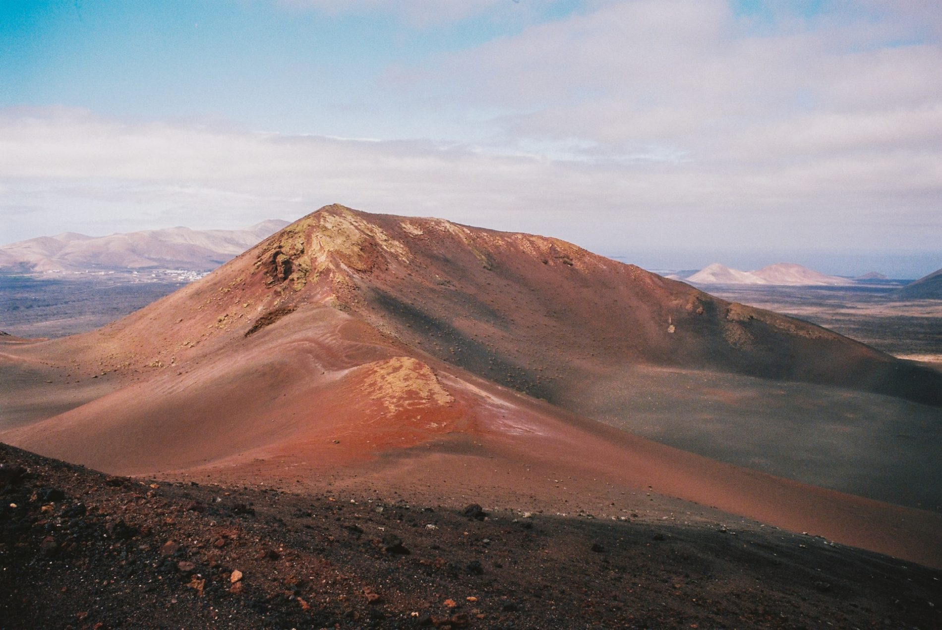 Tymanfaya Lanzarote vulcano