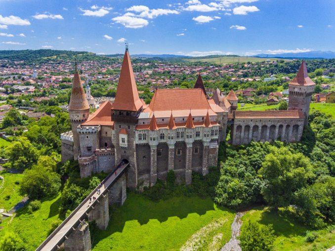 castelli medievali in europa corvin romania